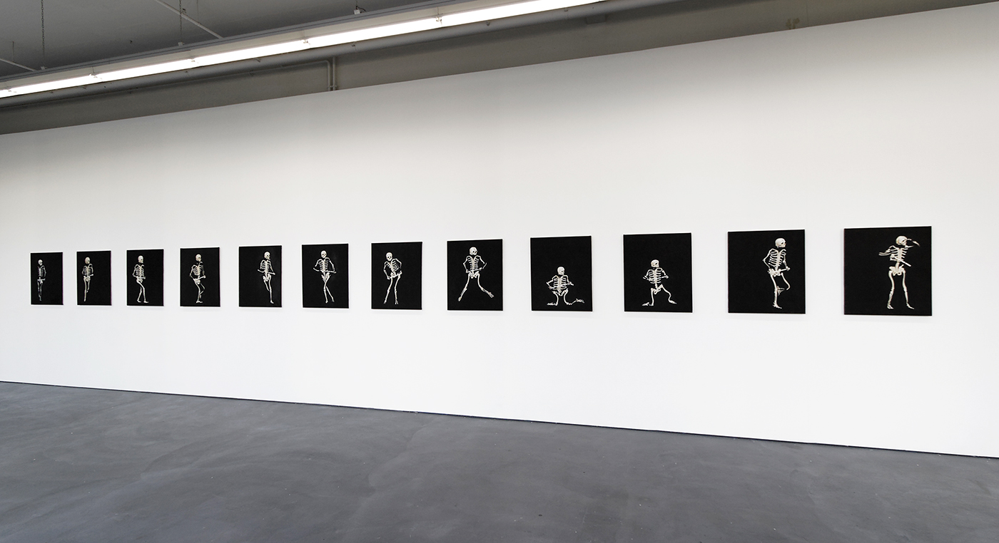 Bruno Perramant - Exhibition view : Quoi, Kunsthaus Baselland, Basel (CH) , 2008