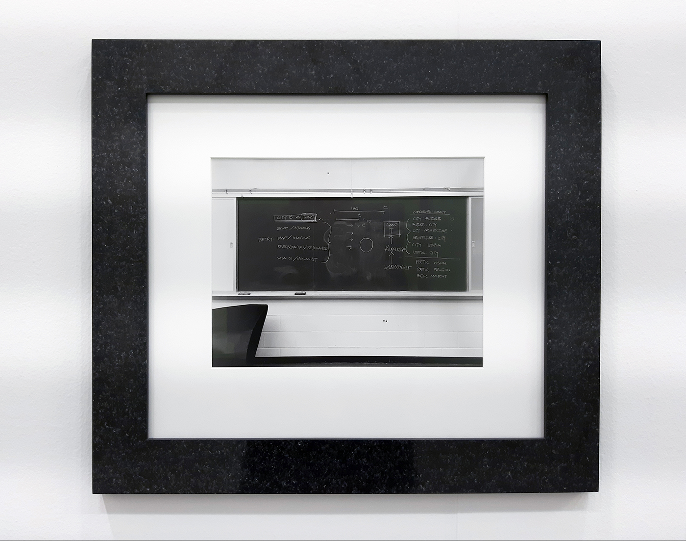 Lynne Cohen - Untitled (Blackboard for architects), 1980-1989
